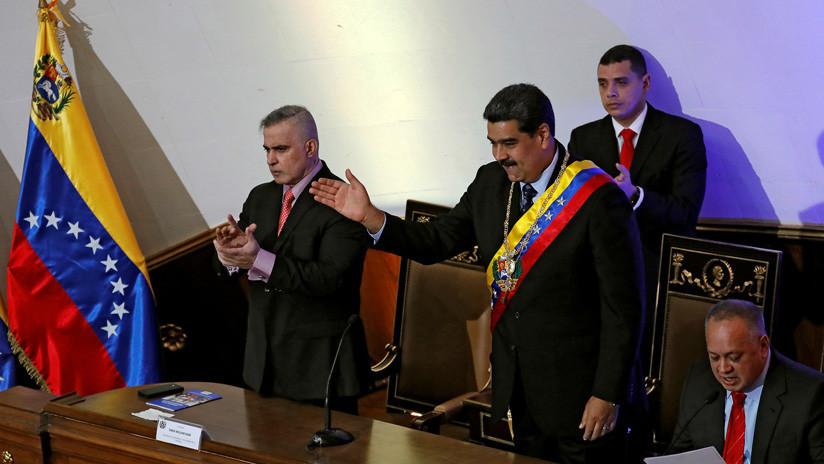Maduro presenta el plan de la Nación ante la Asamblea Constituyente