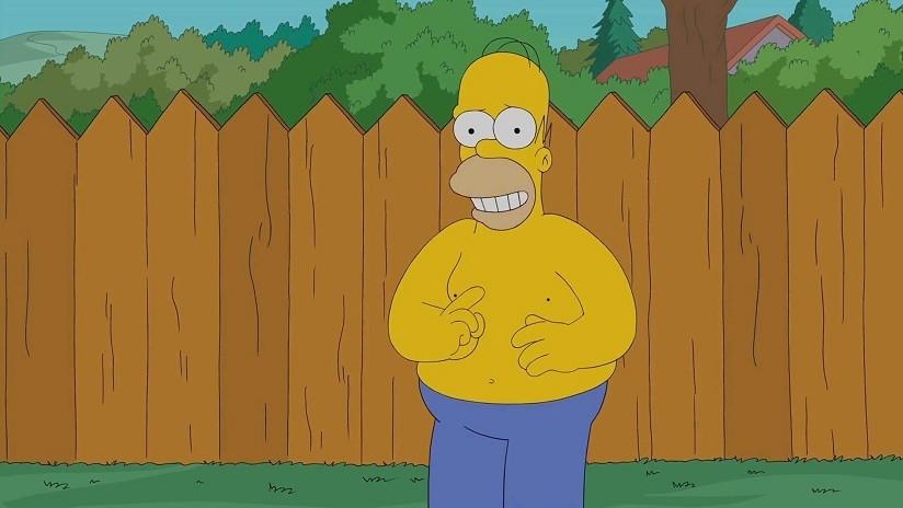 VIDEO: Homero Simpson manda el famoso meme de arbustos que él mismo protagoniza y la Red explota