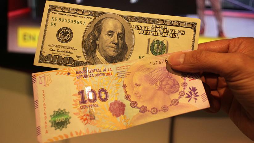 """Argentina: El dólar se mantiene por debajo de la zona de """"no intervención"""""""