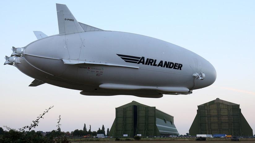 Adiós a 'El Trasero Volador', la aeronave más grande del mundo: el fabricante pone fin al proyecto