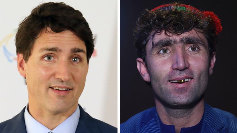 VIDEO, FOTOS: Hallan al 'gemelo perdido' de Justin Trudeau en un concurso de talentos en Afganistán