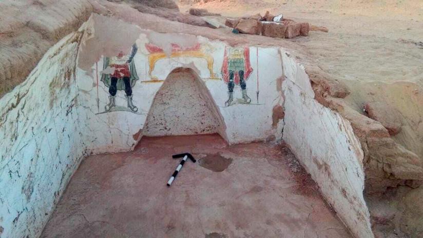 FOTOS: Descubren en el desierto de Egipto tumbas de la era romana