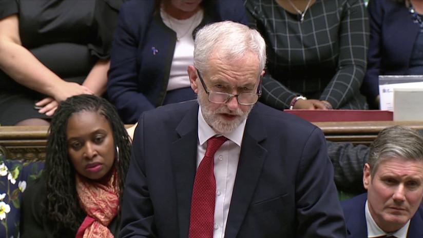 Corbyn presenta una moción de censura contra Theresa May tras el fracaso del acuerdo del Brexit
