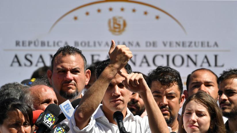 Mike Pence ofrece el respaldo de EE.UU. al jefe de la Asamblea Nacional venezolana, ente en desacato