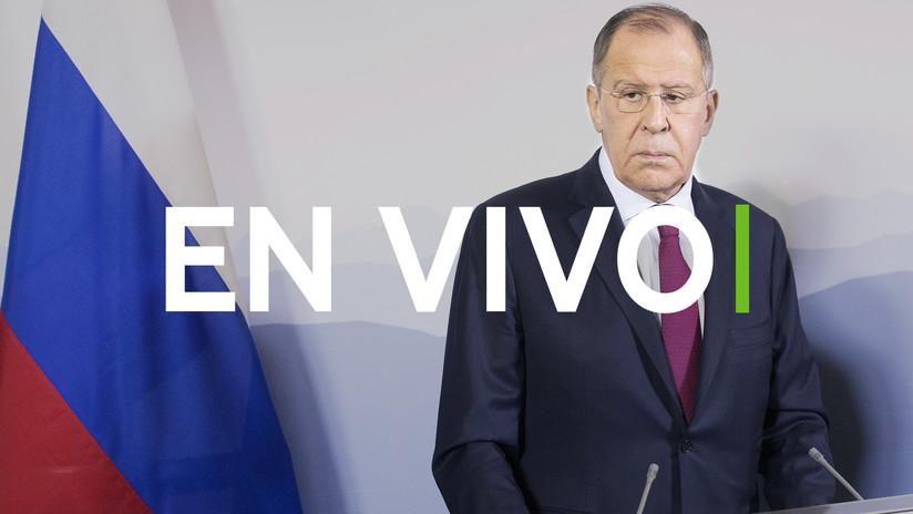 EN VIVO: Lavrov resume la diplomacia rusa del 2018 en su gran rueda de prensa anual