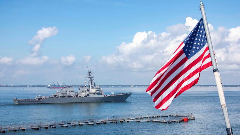 Vicealmirante de EE.UU.: Necesitamos buques no tripulados para contrarrestar a Rusia y China