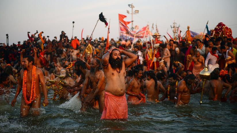 India acoge el festival religioso más multitudinario del mundo