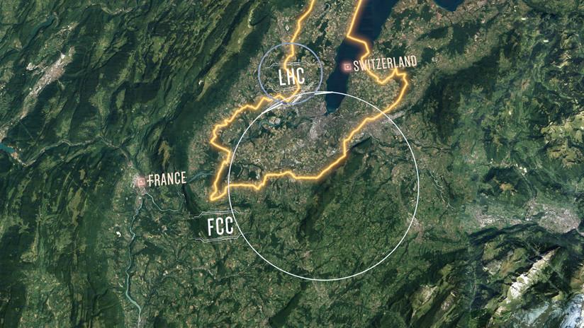 El CERN presenta el diseño de un futuro supercolisionador de partículas que medirá 100 kilómetros