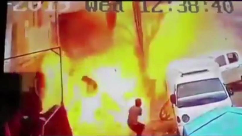VIDEO: El momento exacto de la explosión en Manbij que mató a varios soldados de EE.UU.