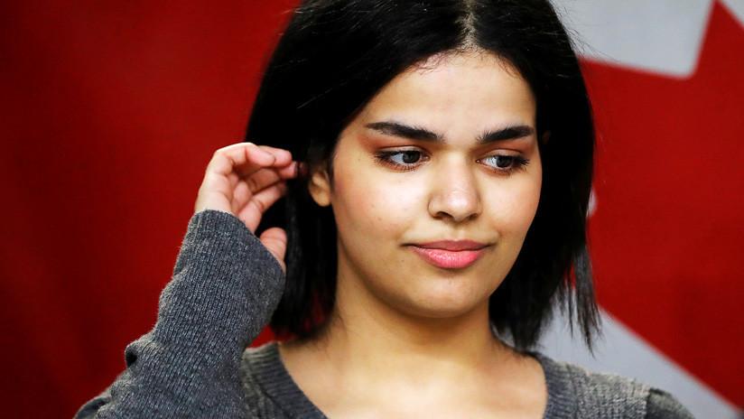 FOTOS: Joven saudita que huyó de su país inicia una nueva vida con vestido corto y comiendo tocino