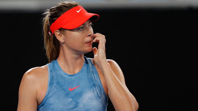 VIDEO: No reconocen a la tenista María Sharápova en la entrada al Abierto de Australia