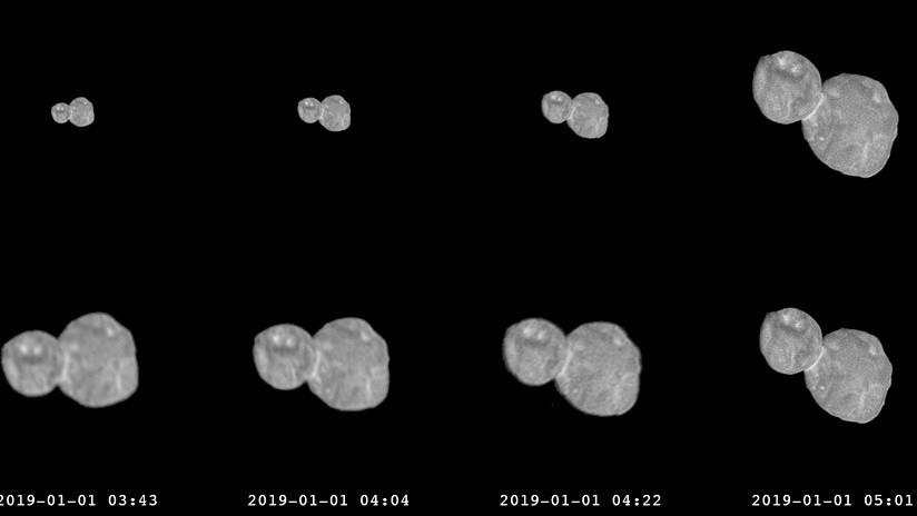 """La NASA muestra el giro """"como de hélice"""" del objeto más lejano jamás estudiado"""