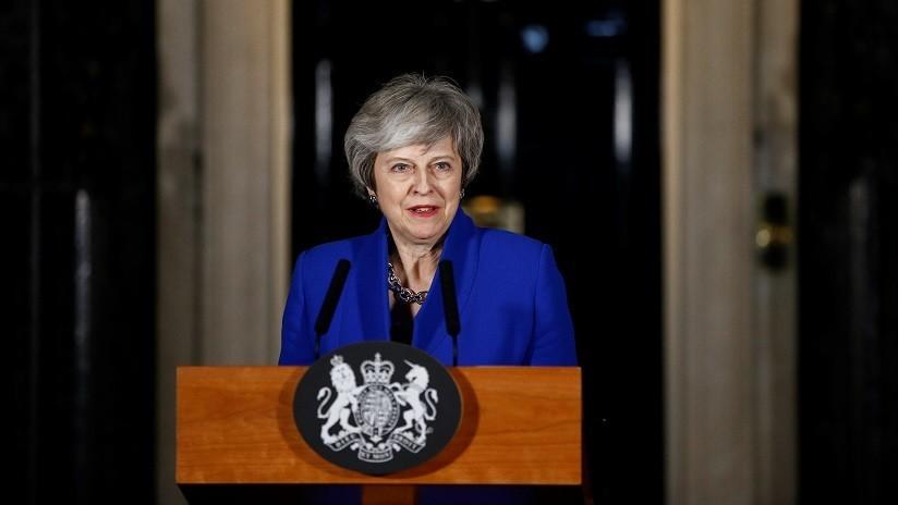 May llama a las fuerzas políticas británicas a unirse para encontrar una solución respecto al Brexit