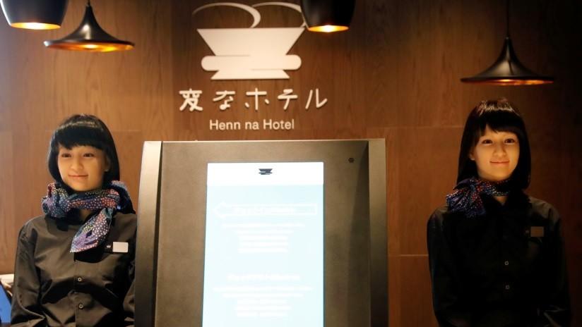 El innovador hotel japonés de los empleados robots 'despide' a sus androides y contrata personas