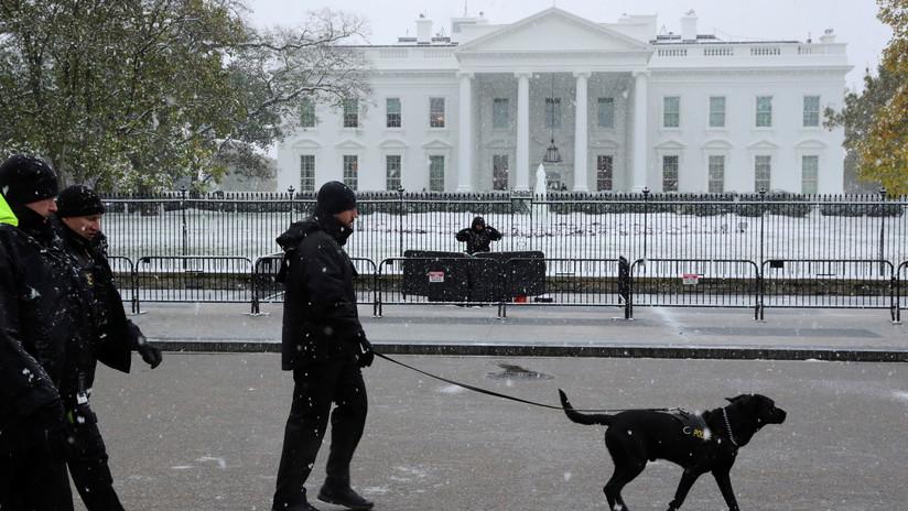 Un hombre planeaba perforar la Casa Blanca con un cohete antitanque y asaltarla con granadas