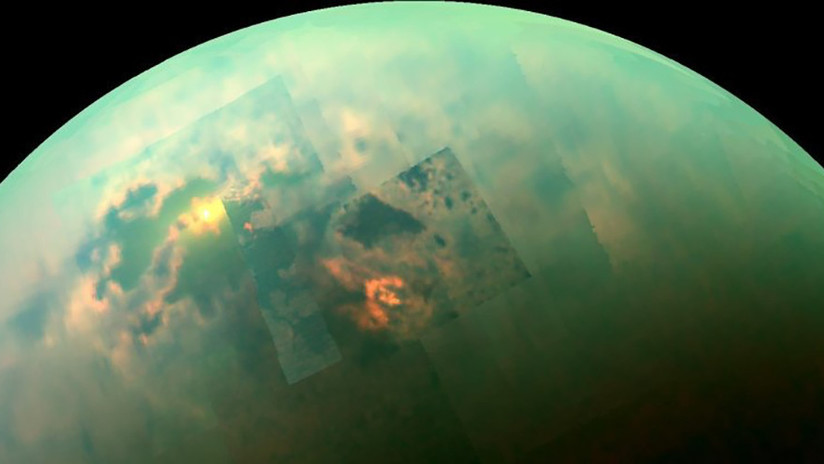 Hallan lluvia de metano en el polo norte de Titán, la mayor luna de Saturno