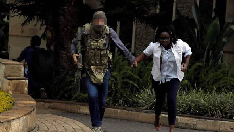 FOTOS: Combatiente del SAS británico ayudó en el operativo para liberar el hotel atacado en Nairobi