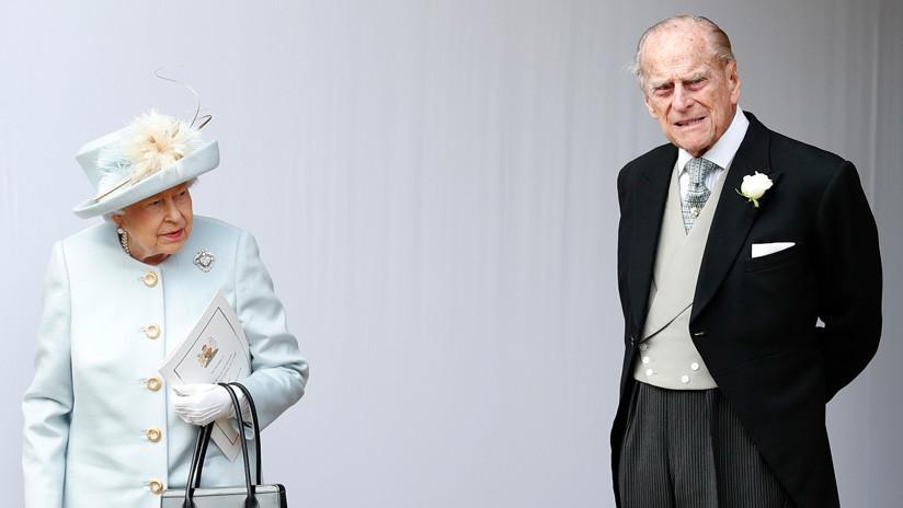 El esposo de la reina Isabel II se ve envuelto en un accidente de tránsito (FOTO)