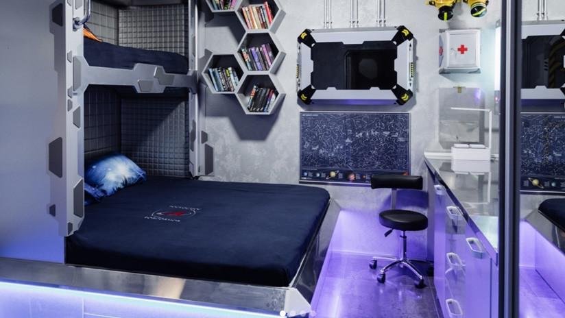 VIDEOS: Inauguran en Crimea un hotel 'extraterrestre' con interiores al estilo de una nave espacial
