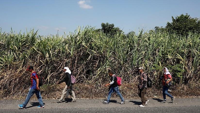 La caravana migrante ingresa a México con intención de llegar a EE.UU.