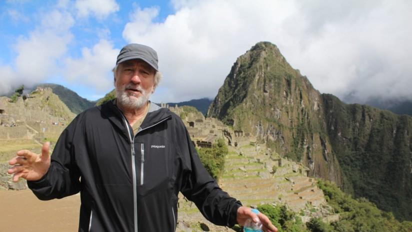 VIDEO: La ciudad peruana de Cusco entrega sus llaves al actor Robert De Niro