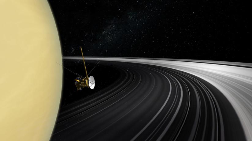 Los anillos de Saturno surgieron cuando en la Tierra reinaban los dinosaurios