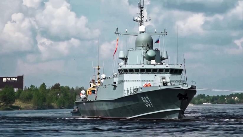 La Flota rusa del Báltico incorpora una nueva corbeta de misiles guiados