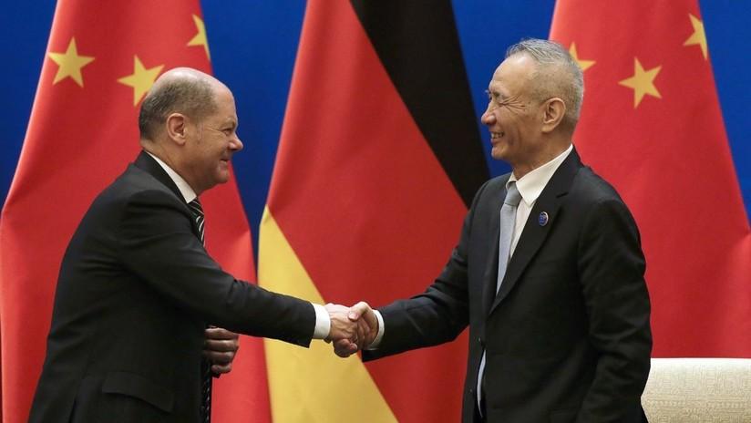 China у Alemania anuncian una estrecha colaboración en el ámbito financiero
