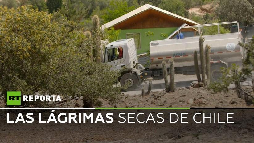 """La vida en el """"infierno"""" chileno, donde la gente no tiene acceso al agua"""