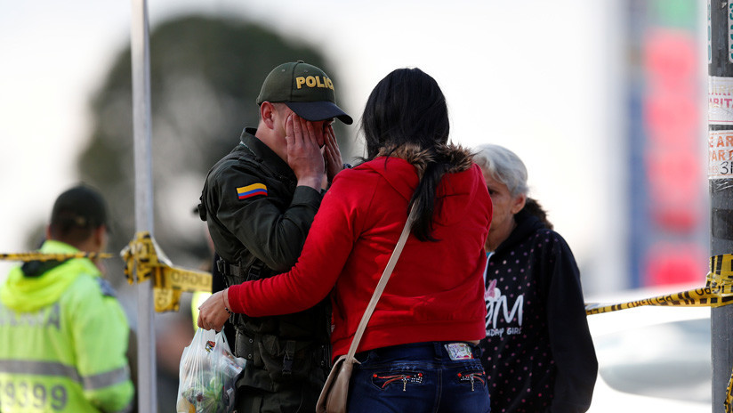 Detienen al primer sospechoso por el atentado terrorista en Bogotá