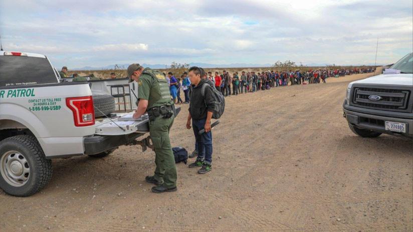 VIDEOS: 376 migrantes cruzan a EE.UU. a través de un túnel para pedir asilo