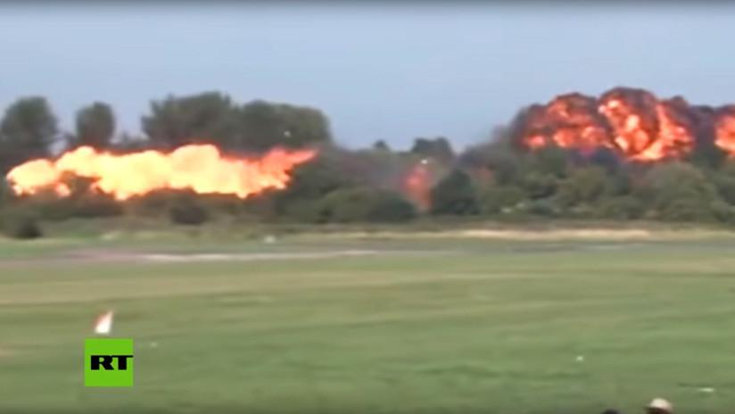 VIDEO: Grabación muestra a pocos metros el trágico accidente de la exhibición aérea de Shoreham 2015
