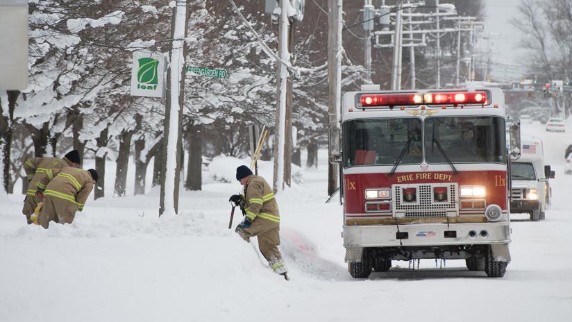 El gobernador de Pensilvania declara el estado de emergencia por la tormenta invernal