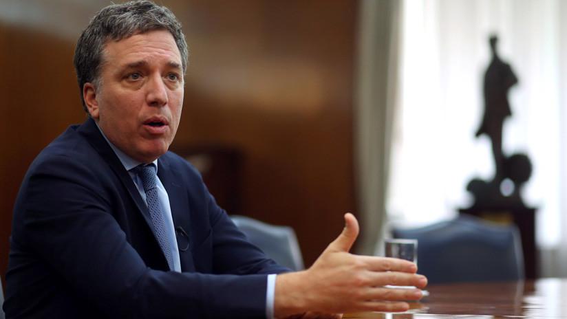 """Ministro de Hacienda argentino: """"Hemos cumplido con las metas del FMI"""""""