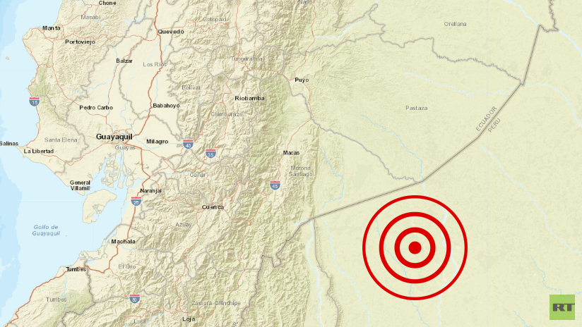 Sismo de magnitud 5.8 se registró en Loreto