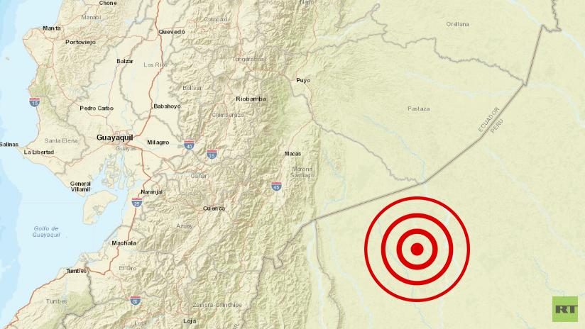 Sismo de magnitud 5,6 registrado en el norte de Perú se siente en Ecuador