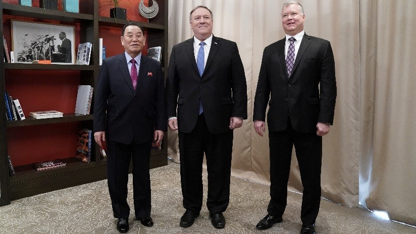 """EE.UU. y Corea del Norte celebran primera reunión de trabajo """"productiva"""""""