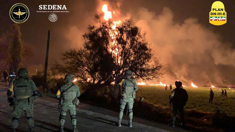 Pemex atribuye la segunda explosión de un ducto a la toma clandestina de combustible