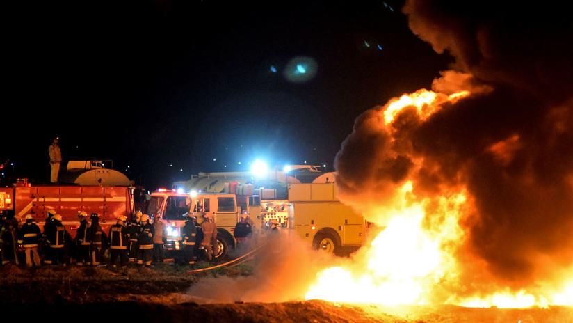 El rastro de muerte y destrucción que dejó la explosión de un oleoducto en México