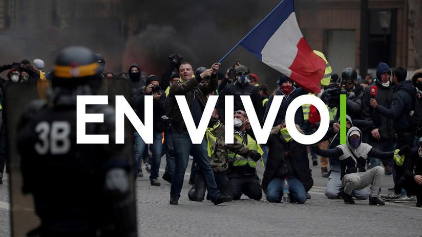 Gran despliegue policial en Francia por protesta de chalecos amarillos