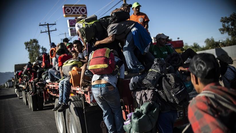 """Trump: """"México no está haciendo nada para detener la caravana de migrantes que se dirige a EE.UU."""""""