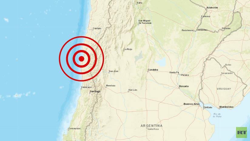 FOTOS, VIDEOS: Un sismo de magnitud 6,7 se registra en Chile