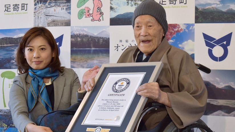 Fallece a los 113 años el hombre más longevo del mundo