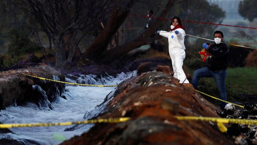 Alto octanaje y ropa sintética: la hipótesis de la causa de la explosión del ducto en México