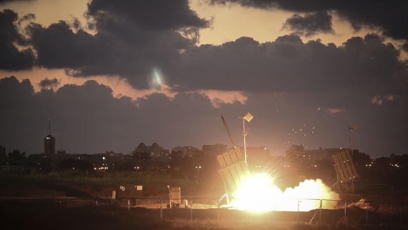 La Cúpula de Hierro israelí intercepta un misil sobre los Altos del Golán