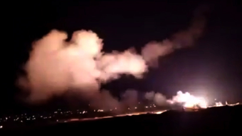 VIDEO: Los sistemas de defensa antiaérea de Siria repelen un nuevo ataque aéreo israelí en Damasco