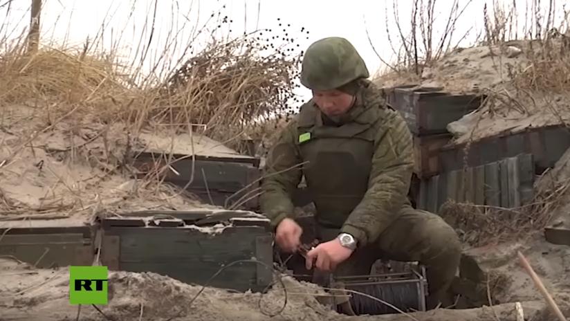 VIDEO: La Flota rusa del Báltico realiza maniobras de exploración de explosivos