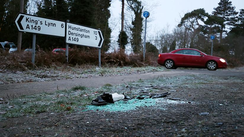 Subastan piezas del accidente de tránsito ocasionado por el esposo de la reina Isabel II