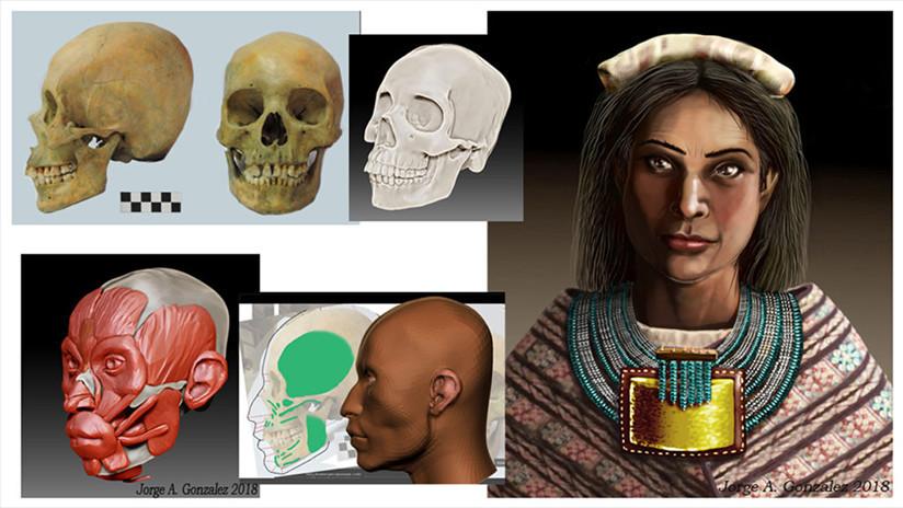 Descubren el esqueleto de una importante mujer inca en Argentina