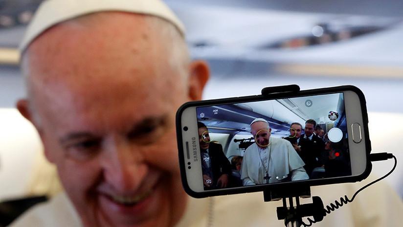 'Haga clic para orar': El papa Francisco lanza su perfil en la aplicación Click To Pray
